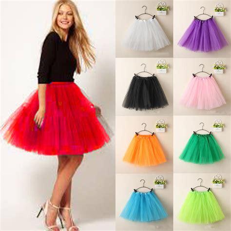 princess ballet tulle tutu skirt wedding prom rockabilly mini dress ebay