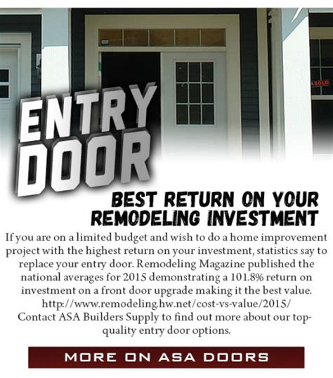 asa cabinets walled lake mi entry door best return on you remodeling investment