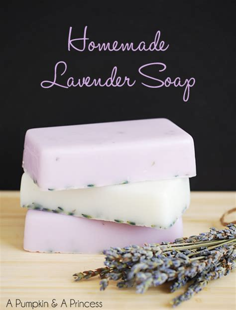 How To Make Handmade Soap At Home - lavender soap