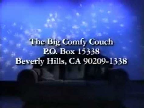 the big comfy couch website the big comfy couch closing logo credits youtube