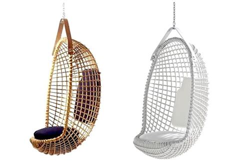 Wicker Vases Eureka Hanging Chair Gardenista