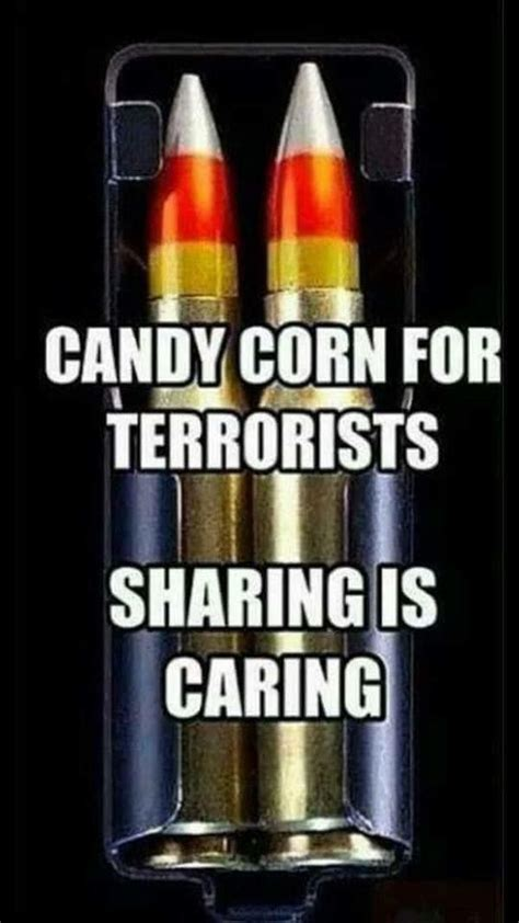 Candy Corn Meme - candy corn for terrorists military humor