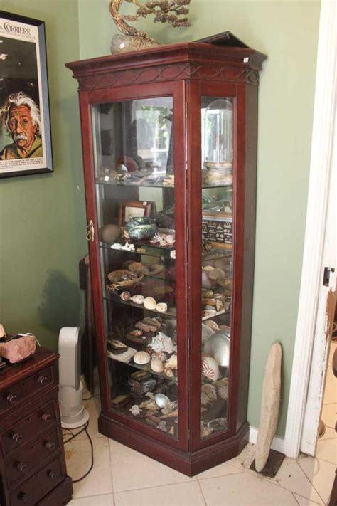 mirror backed display cabinets a mahogany display cabinet with mirror back