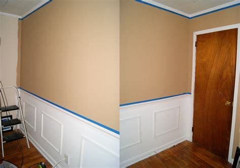 Faux Wainscoting With Paint by Wanna Create It Faux Wainscoting Part 2