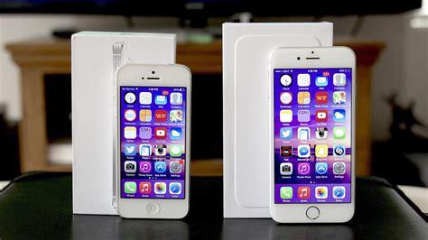 iphone 5 vs iphone 6 comparison