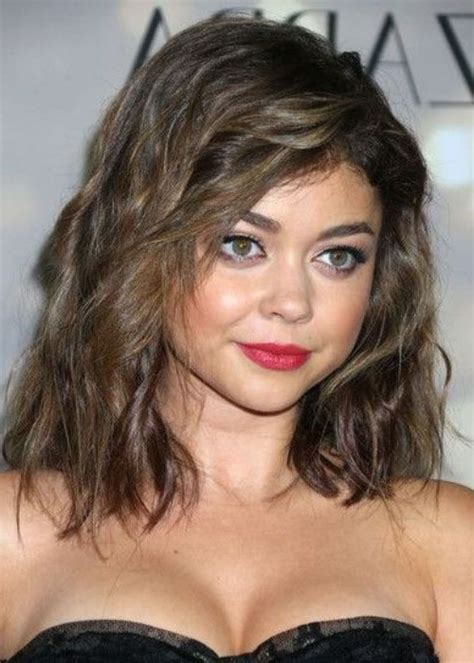 haircuts for curly thick hair and round faces medium hairstyles for round faces wavy hair hairstyles
