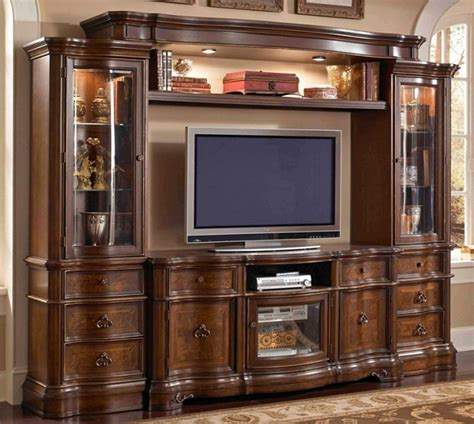 glass doors for entertainment wall benino traditional entertainment wall unit