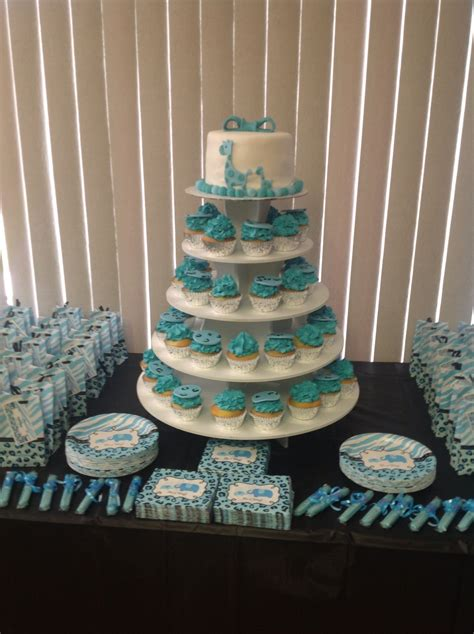 Blue Safari Baby Shower Ideas by Blue Safari Baby Shower Decorations Carlos Andres