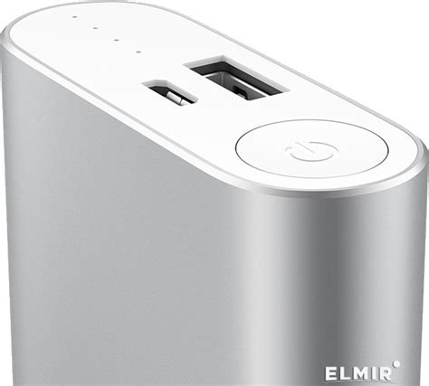 Xiaomi Mi Power Bank 10000mah Silver Original аккумулятор универсальный xiaomi mi power bank 10000mah