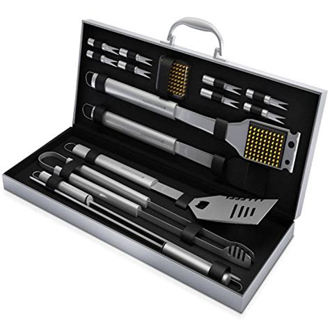 Housing Casing Fullset P910 Silver best bbq grill tool sets and grilling tools for 2016