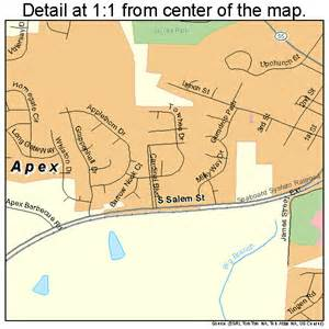 apex carolina map 3701520