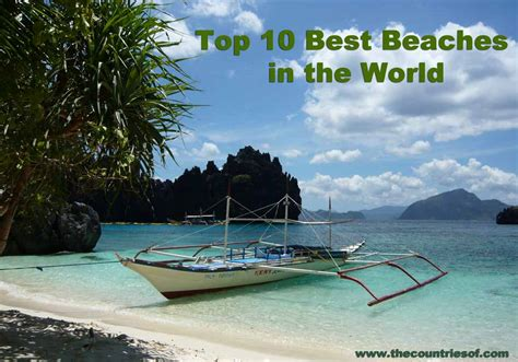 top 10 most beautiful beaches in the world top 10 best and most beautiful beaches in the world 2014