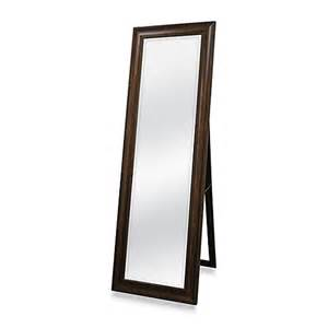 buy golden bronze 20 inch x 60 inch floor mirror with easel from bed bath beyond