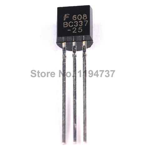 transistor bc337 25 to 92 transistor bc337 25 to 92 28 images 200pcs bc337 bc337 25 npn to 92 500ma 45v transistor