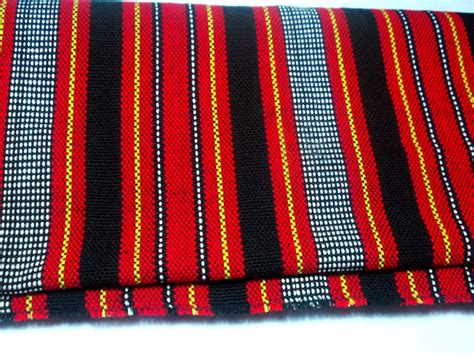 Upholstery Materials Philippines by Tribal Handwoven Fabric Handmade Textile Table