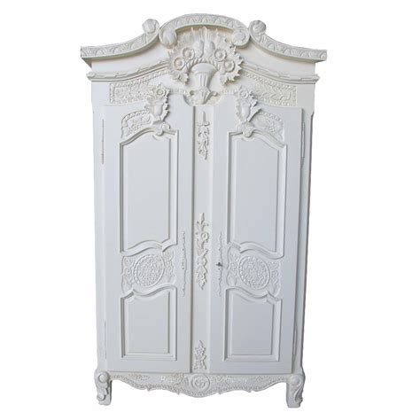 armoire wardrobe white armoire french white wardrobe french bedroom white