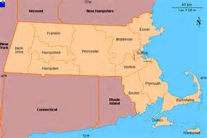 united states map massachusetts clickable map of massachusetts united states