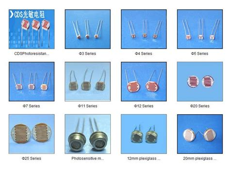 types of resistor with names photoresistor sensor ldr cds buy ldr sensor ldr resistor ldr photo sensor product on alibaba