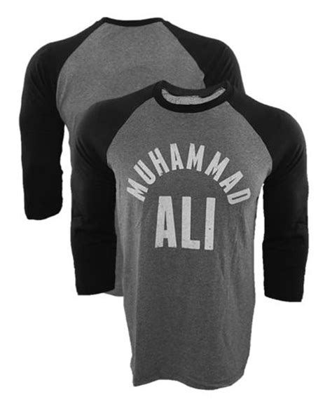 T Shirt Muhammad 2016 new brand t shirt muhammad ali all raglan t