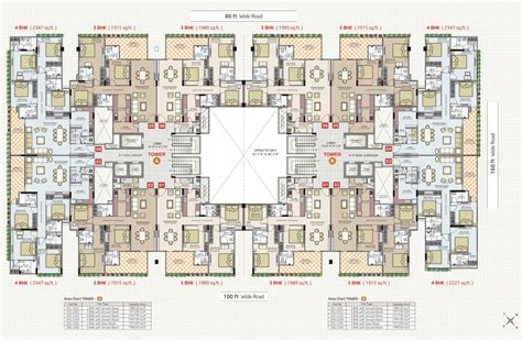 Rayburn House Office Building Floor Plan by 3 4bhk Flat Sky Terraces Mansarover Flatinjaipur Com