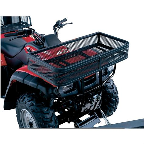 swisher atv universal rear basket 118463 racks bags