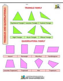 Shapes for kids triangles quadrilaterals us col