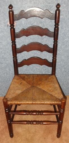 antique ladder back chairs price ladder back chair with seat b5666 for sale antiques