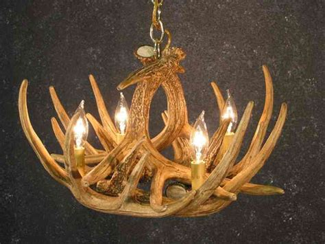 How To Make A Deer Horn Chandelier Deer Antler Chandelier Kit Decor Ideasdecor Ideas