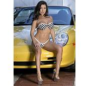 On Yellow Porsche BAbe Jessica Canizales Gallery AdavenAutoModified
