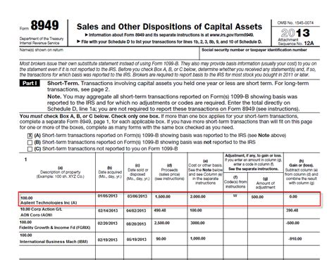 what is wash sale form 8949