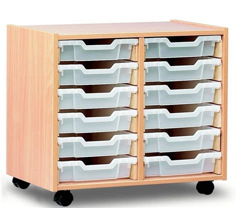 Shallow Drawer Unit by Tray Unit Shallow 12 Shallow Drawers