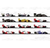 Formule 1  Les Voitures De La Carri&232re DAyrton Senna Photos