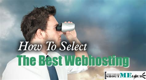 how to choose a web host 15 point hosting checklist best webhosting company guide to select the best of the