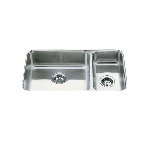kohler undertone undermount stainless steel 32 in 2