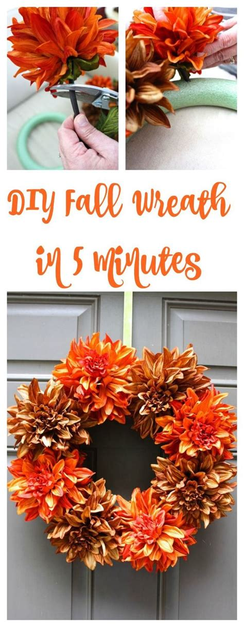 easy to make fall decorations 10 easy diy fall decor ideas
