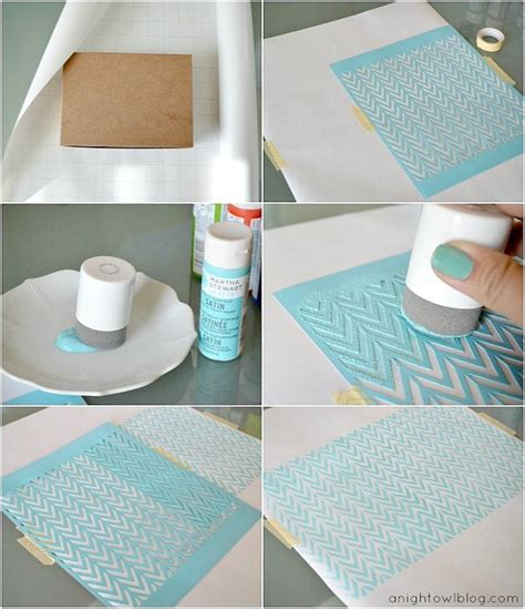 diy crafts with top 10 creative diy stencil projects