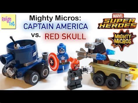 Lego Mighty Micros Captain America Vs Skull 76065 1 lego marvel heroes mighty micros captain america vs skull 76065 stop motion animation