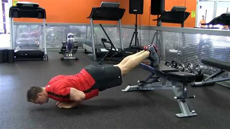 plank with feet on bench 100 plank with feet on bench glute activation 10