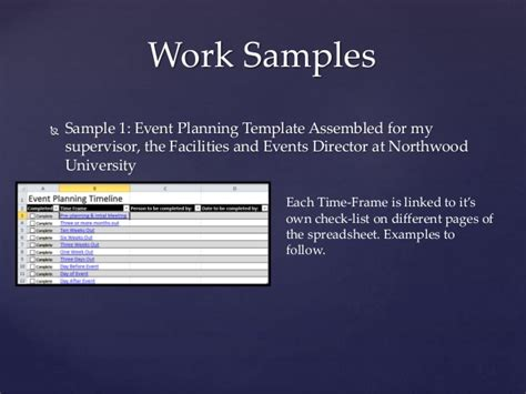 Career Portfolio Work Portfolio Template