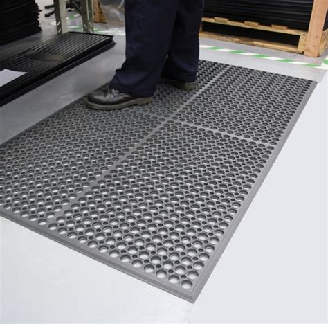 Shop Mats by Worksafe Light Anti Fatigue Drainage Mats Are Worksafe