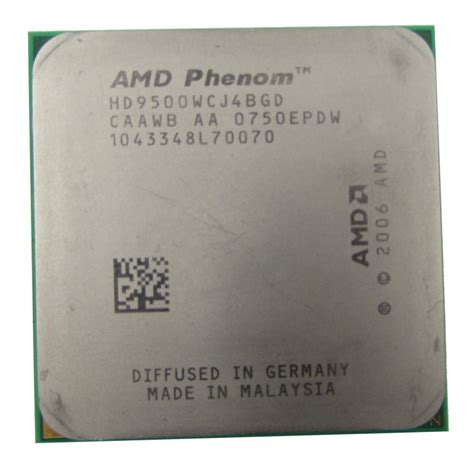 Processor Amd Phenom X4 9500 22 Ghz 1 amd phenom x4 9500 hd9500wcj4bgd 2 2ghz socket am2 cpu cpu processors