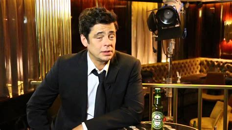 heineken commercial hero actress benicio del toro behind the scenes of his new heineken