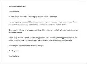 thank you letter to team while leaving the company thank you letter 9 free word excel pdf format
