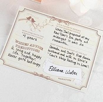 postcard wording ideas for wedding guest book forever wedding wishes signature cards pkg of 48