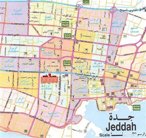 jidda map jeddah city map jeddah saudi arabia mappery