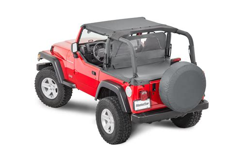 wrangler summer tops mastertop summer combo top for 97 02 jeep wrangler tj