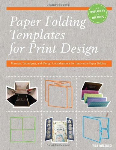 Paper Folding Templates For Print Design - sson29 on marketplace sellerratings