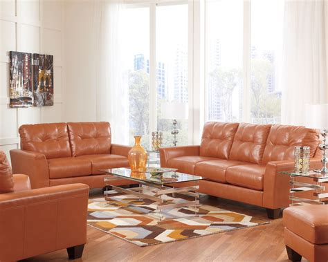 ashley furniture orange sofa paulie durablend orange sofa from ashley 2700238