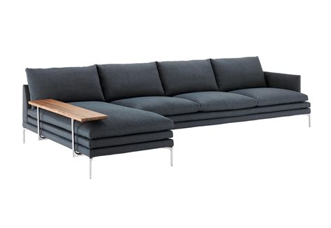 william sofa 1330 william corner sofa by zanotta stylepark