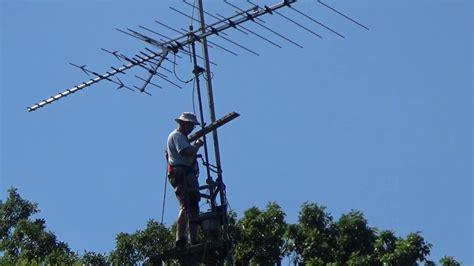 kens tv antenna installation youtube